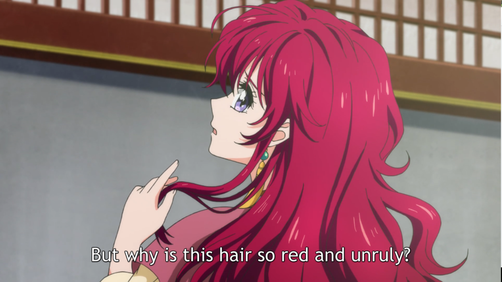 Akatsuki no Yona 01 hair